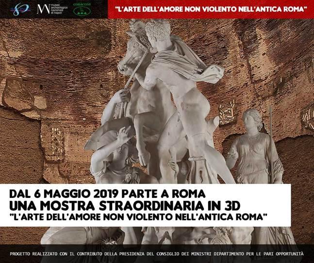ROMA, mostra contro la violenza sulle donne e il bullismo