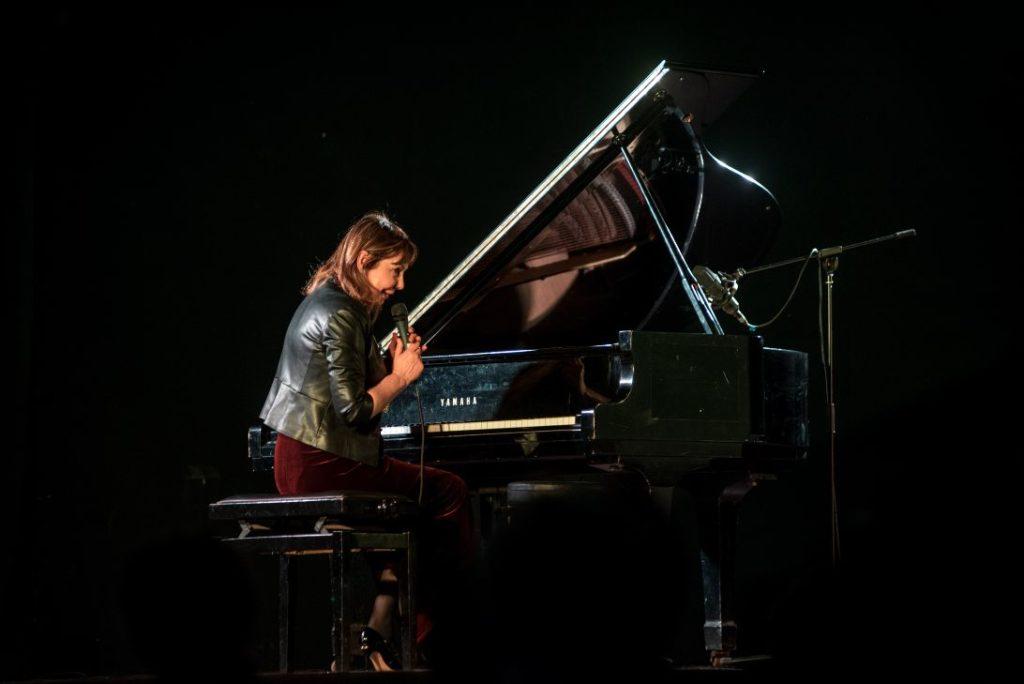 Rita Marcotulli, pianista concerto Rivolimusica, foto di Alex Astegiano