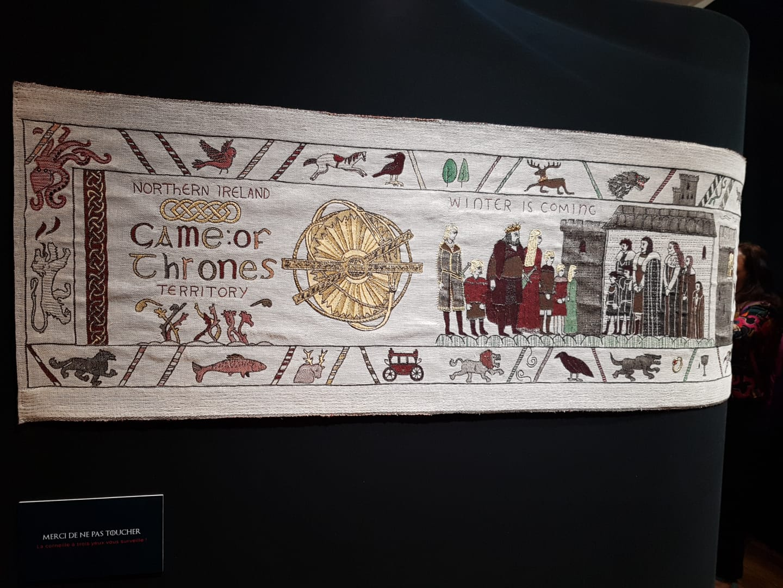 GAME OF THRONES:  IL CELEBRE ARAZZO ESPOSTO A BAYEUX