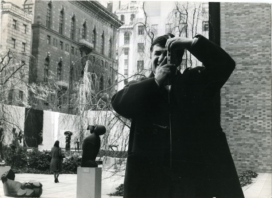 emilio scanavino al MOMA di New York