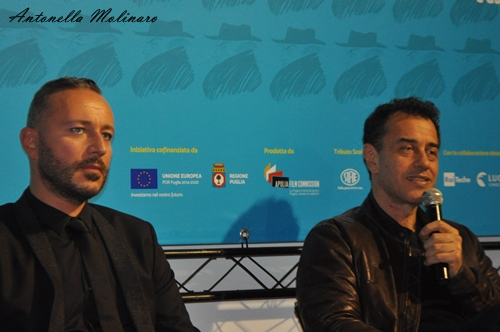 MASSIMO CANTINI PARRINI, costumista cinematografico, e MATTEO GARRONE, regista