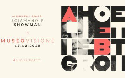 ALIGHIERO BOETTI: SCIAMANO E SHOWMAN