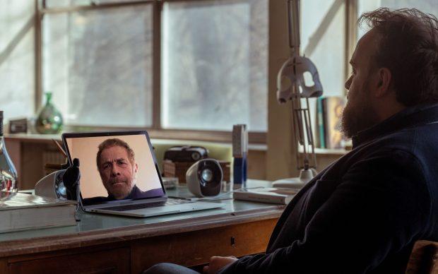 Cultura: Gabriele Lavia ospite della 13° puntata di The Square - articolo di Loredana Carena - foto ufficio stampa