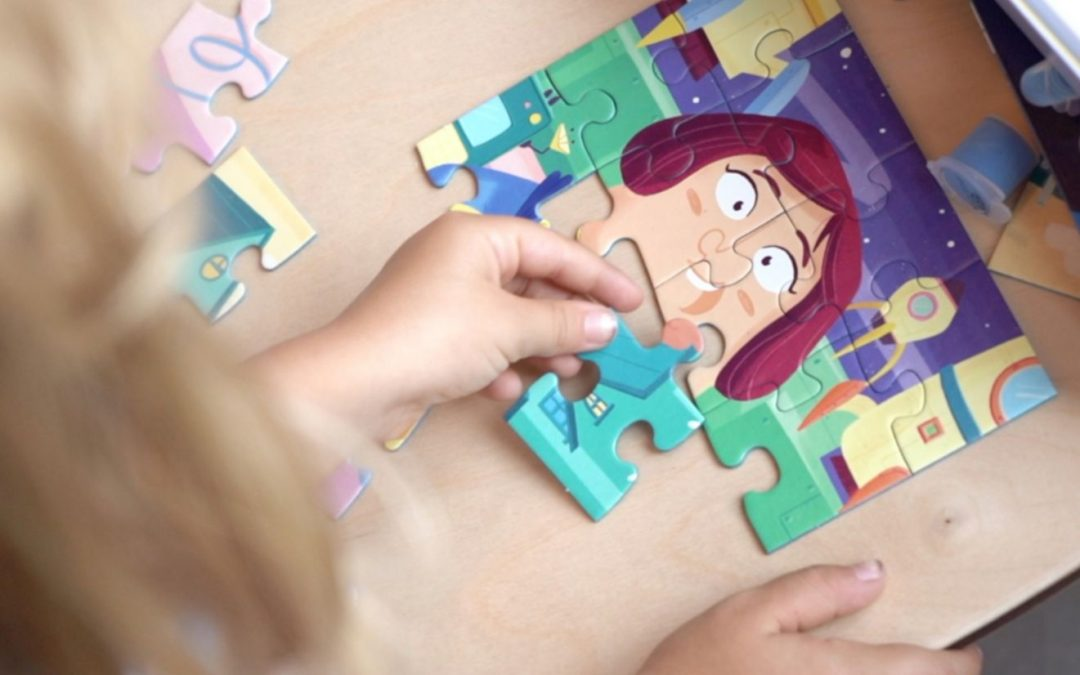 "Ravensburger puzzle ""Mix & Match"", photo credit Stefano Pisana (#loredanacarena, @artecarenalo)"